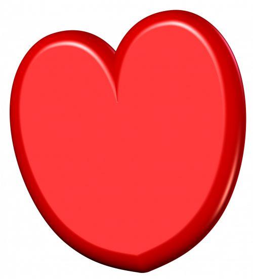 3d Heart Clipart