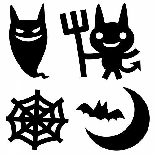 4 Black Evil Symbols
