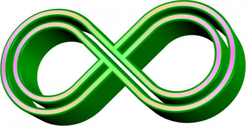 4 Color Infinity Sign