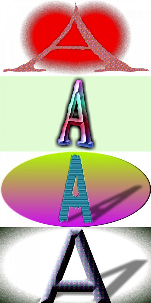 4 Letters A