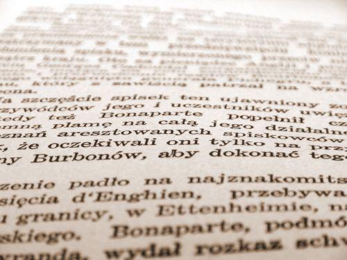 knyga, puslapis, sefija, tekstas, raidės, senas knygos puslapis