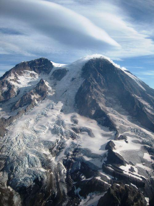 Mount Rainier Peak