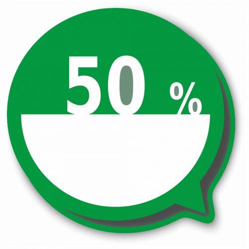 50 % Balloon
