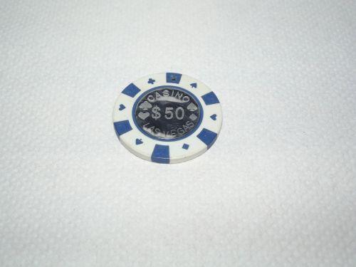 $50 Casino Chip