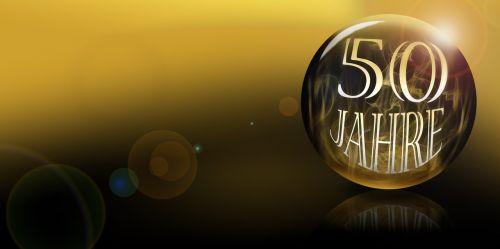 50 years anniversary number 50 50 years