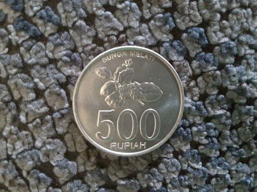 500 Indonesian Rupiah