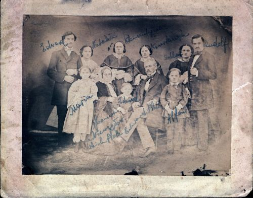 Plate Family - 1870s