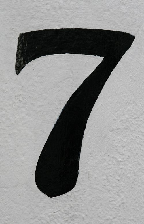 number 7 abstract