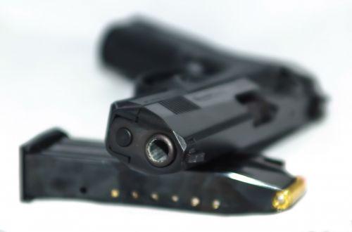 9 Nine Mm Pistol And Ammo
