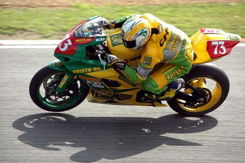 M Choi Motorcycle Racer