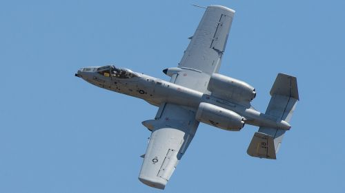 a-10 thunderbolt ii 190th fighter squadron utah test and training range