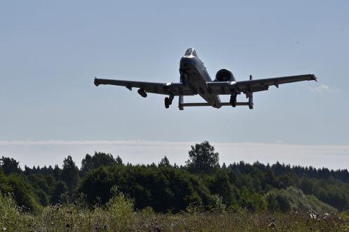 a-10c thunderbolt ii aircraft aviation