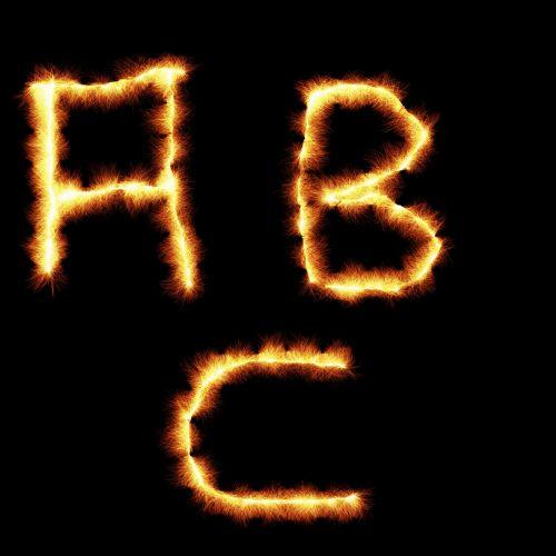 ABC Fire Letters
