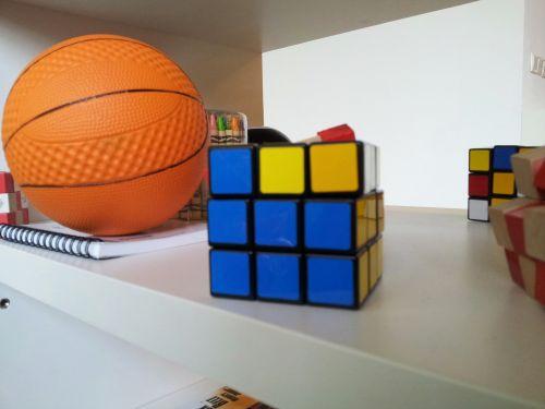 A Ball And Magic Matrix