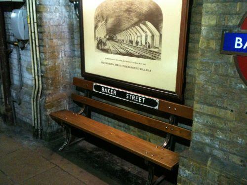 A Bench On The Platform A Baker St