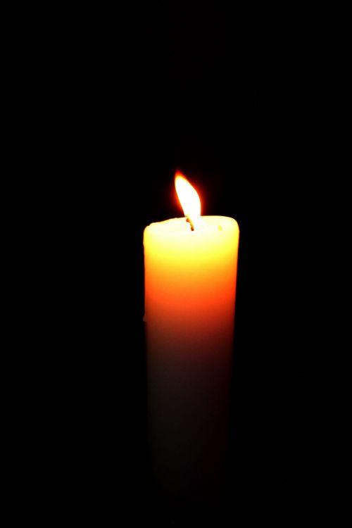 žvakė, šviesa, liepsna, balta & nbsp, žvakė, Ugnis, karštas, žvakė