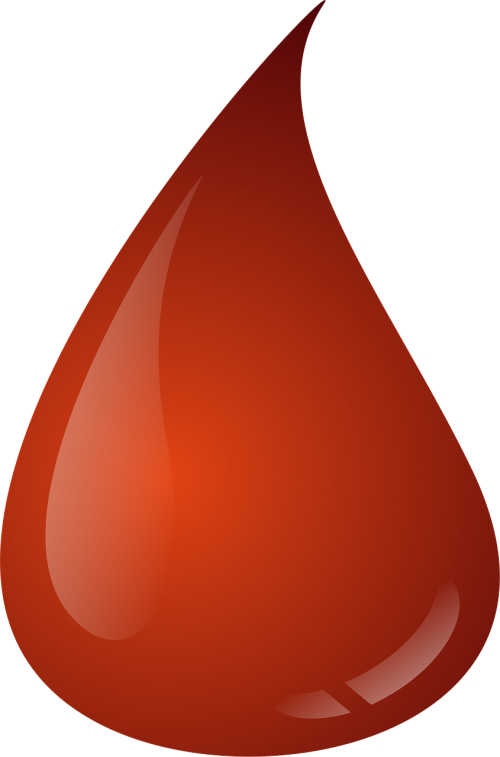 a drop of blob blood