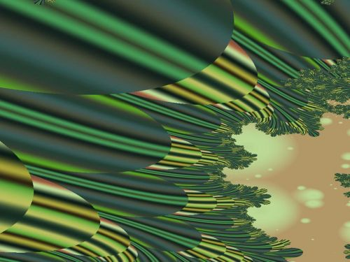 A Feathery Sort Of Green Image