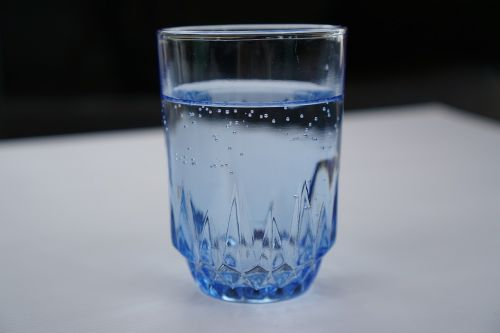 a glass of water water cup