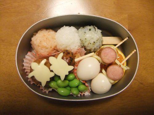 a kyaraben bento kindergarten lunch box