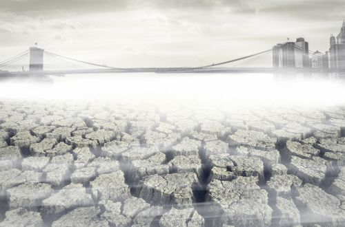 A Mirage Brooklyn Bridge