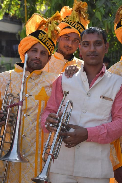 a musical ensemble instrumental band indians