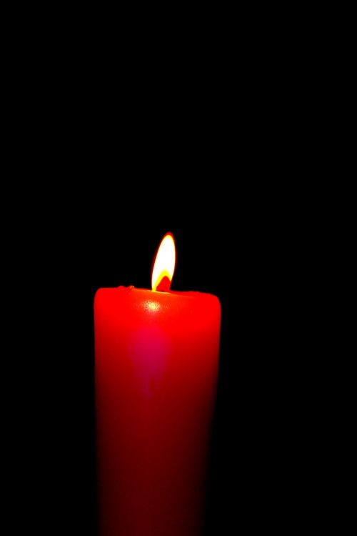 A Red Candle