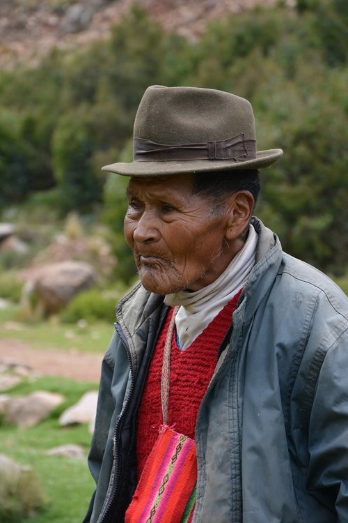 a resident of mold  puno  peru