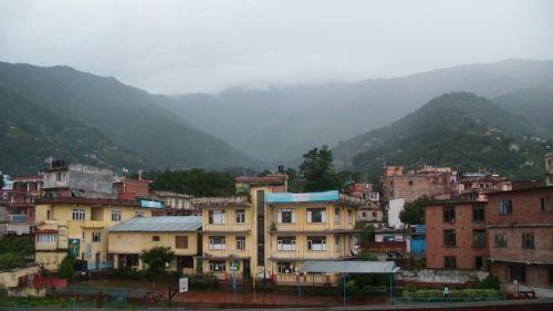 debesis, debesys, kalnas, kalnas, katmandu, Nepalas, laukas, miestas, perėjimas, lietus, musonas, mokykla, Katmandu mokykla