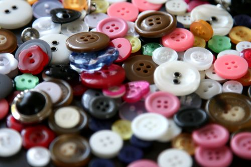 A Spread Of Buttons