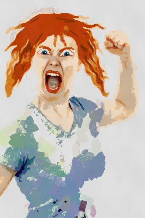 A Very Angry Woman