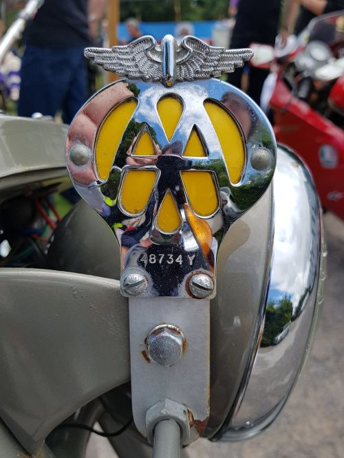 aa badge motorcycle