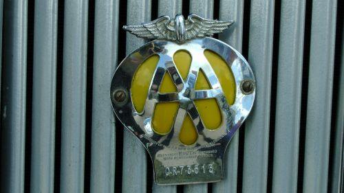 AA Automobile Association Badge