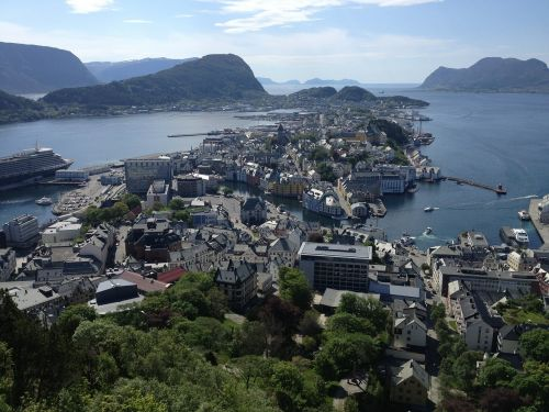 aalesund norway city