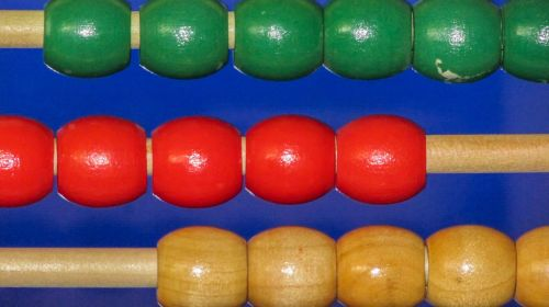 abacus colours toy