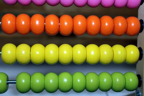abacus beads numeral