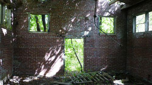 abandoned wash house centralia