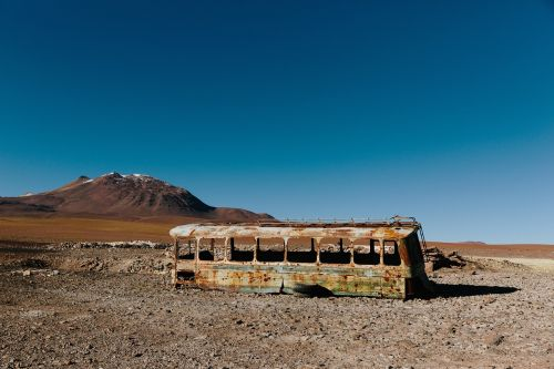 abandoned old rust