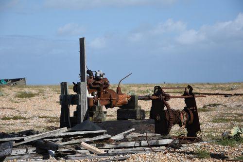abandoned machinery dungeness