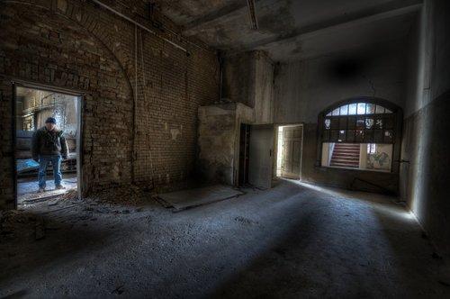abandoned  architecture  indoors
