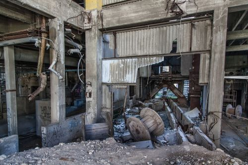 abandoned factory abandoned factory