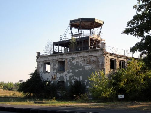 Abandoned Flight Control Tower
