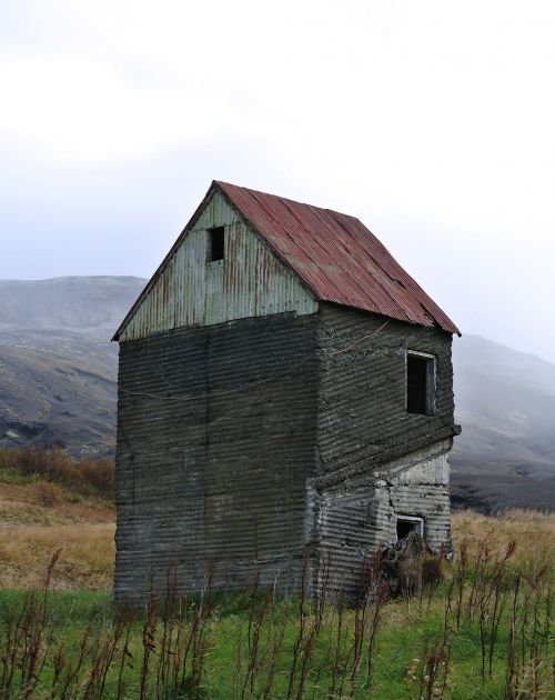 abandoned house haunted house iceland