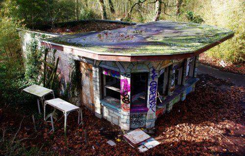 Abandoned Kiosk
