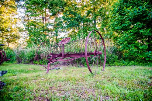 Abandoned Agriculture Equipment