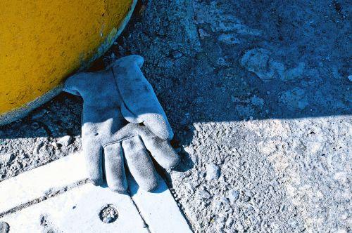 Abandoned Work Glove