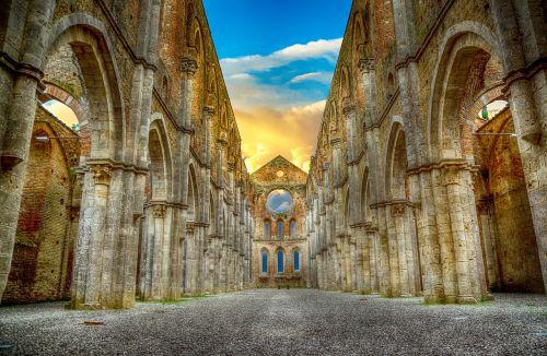 abbey ruin architecture