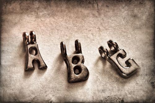 abc letters alphabet