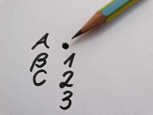 abc leave pencil