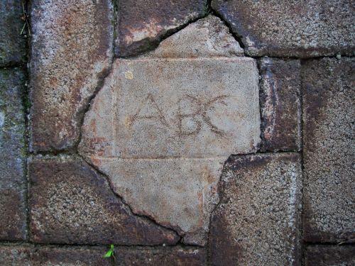 Abc Inscription
